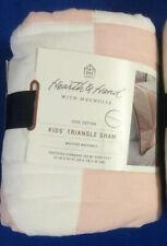 Hearth & Hand Magnolia Kid's Triangle Pillow Sham Peachy Pink's Standard New