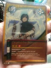 Naruto CCG Crystal Ice Mirror 036 SUPER RARE (used)