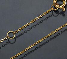ECHT GOLD *** Feine Kette Ankerkette 38 / 40  cm