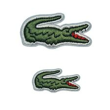 Embroidery Alligator Sport Iron On Sew On Patch Cloth Applique Badge Big & Small