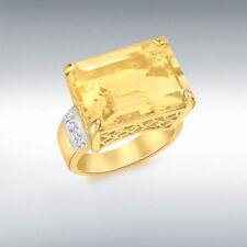 Citrine Yellow Gold Fine Jewellery