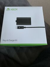 GENUINE MICROSOFT XBOX ONE BLACK PLAY AND CHARGE KIT RECHARGEABLE BATTERY PACK