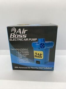 AIR BOSS Fine Expectations Multi-Use 120V Electric AIR PUMP FOR INFLATABLES