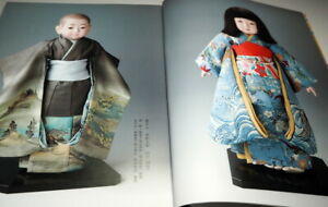 Make Japanese Ichimatsu Doll Kimono Garment book from Japan traditional (1009)
