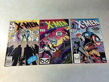 UNCANNY X-MEN #244,248,268 KEY ISSUES, 1ST JIM LEE, 1ST JUBILEE!! WOLVERINE!!