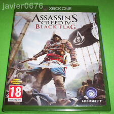 ASSASSINS CREED IV BLACK FLAG NUEVO Y PRECINTADO PAL ESPAÑA XBOX ONE