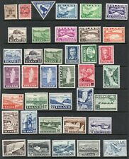 Iceland 1902- Collection of 38.MLH.Very Fine.