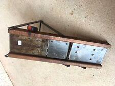 (n°1 ) old tool / outil ancien de cuisine / mandoline / râpe / COUPE LEGUME