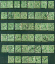 Great Britain Sg-418, Scott # 187, Used, 46 Stamps, Faults, Great Price!