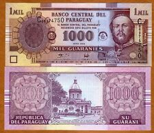 Paraguay, 1,000 (1000) Guaranies 2004, P-222a, UNC