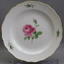 MEISSEN ROTE ROSE KUCHENTELLER D=18,3 cm