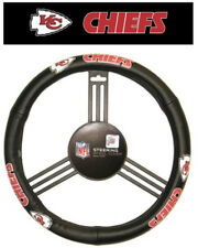 Kansas City Chiefs Leather Steering Wheel Cover [NEW] NFL Car Auto Truck CDG
