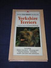 Hamlyn Dog Breed Handbooks YORKSHIRE TERRIERS Angela Sayer & Edward Bunting
