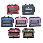 HugglePets+Fabric+Dog+Crate+Puppy+Carrier+-+Cat+Travel+Cage+Carry+Pet+Bag+4+Size