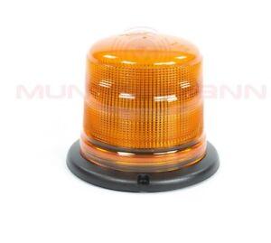 Juluen  Axixtech LED Kennleuchte B18 gelb ECE R65 Festmontage flacher Sockel