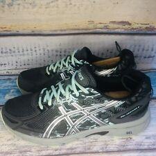 ASICS Women's Gel Venture 6 T7G7Q D Running / Hiking Shoes US 10 Wide Gray Teal
