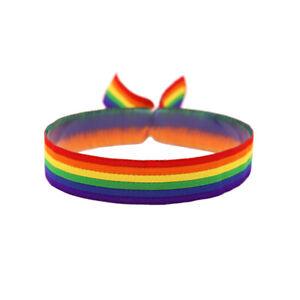 Regenbogen Armband CSD LGBT Pride Gay Festival Bändchen LGBTQ Armbändchen