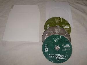 Tom Clancy's Splinter Cell (PC, 2002)