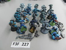Warhammer 40K Space Marine army lot - 20 partially painted Tactical Troops r