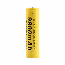 3.7V 18650 9800mAh Capacity Li-ion Rechargeable Battery For Flashlight Torch#FR