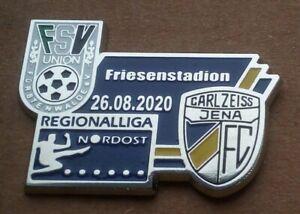 Union Fürstenwalde - FC Carl Zeiss Jena