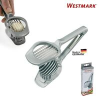 Westmark German Stainless Steel Multi-Purpose Egg Mushroom & Fruit Slicer - Gray