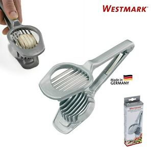 Westmark German Stainless Steel Multi-Purpose Egg Mushroom & Fruit Slicer - Gray