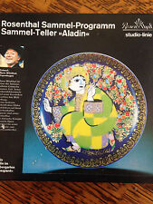 Rosenthal Sammel Programm Sammel Teller Aladin Art Plate Beautiful Colorful
