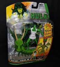 Marvel Legends Fin Fang Foom Series SHE-HULK Figure +BAF Head Wal*Mart Exclusive