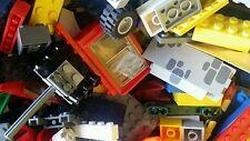LEGO Lot of 2 Pounds Pieces  Bulk  Star Wars Castle Ninjago City Pirates Brick