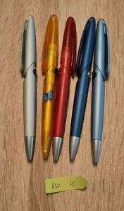 5 DS7 Prodir Kugelschreiber, Werbekugelschreiber aus Sammlung