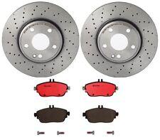 Brembo Front Brake Kit Disc Rotors Ceramic Pads For MB W246 C117 X117 Sport Pkg