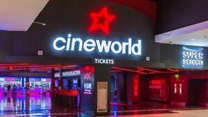 6 X Cineworld Club Lloyds Tickets (Expiry 31/5/2021