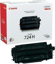 Cartuchos de tóner de impresora negra original Canon