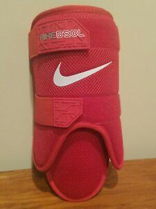 Nike Baseball BPG 40 Batter's Leg Guard 2.0 - Youth Size - Red