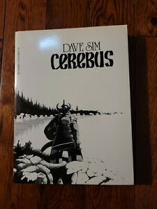 Cerebus Book 1 TPB Sixth printing Dave Sim, Collects Issues 1-25 Aardvark 1994