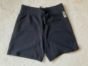 Justice girls bermuda shorts, all comfy cotton, black, size 18-20