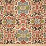 "Waverly Folk Damask Teracotta Drapery Upholstery Cotton Floral 54"" Print Fabric"