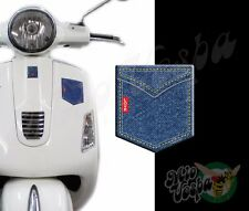 Front Large Pocket Love Denim 3D Decals sticker Vespa Gts Gt ET PX 50 & Classic