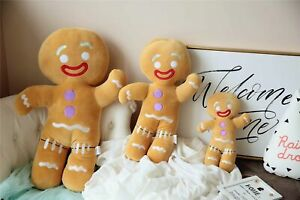 Dreamworks Shrek Movie Gingy Gingerbread Man Biscuits Plush Christmas 2022