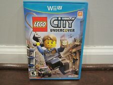 LEGO City Undercover (Nintendo Wii U, 2013) (with Instruction Manual)