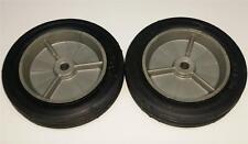 Gray Plastic 7x1.50 Pedal Tractor Front Wheels w/Rubber Tires Case-IH ERTL/Eska