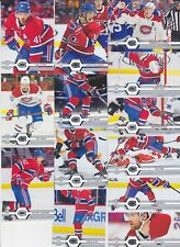 2019-20 Upper Deck Team Set MONTREAL CANADIENS (13) Free shipping 2019/20 UD