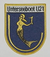 """Patch Patch insignia submarino U-Boot """"u21"""" s170... a4654"""