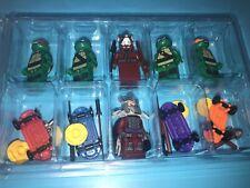TMNT Teenage Mutant Ninja Turtles Set Custom Packaged Mini-Figure Classic Sewer