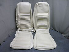 70 Mustang Mach 1 Front Bucket Seat Upholstery Reproduction White Stripe