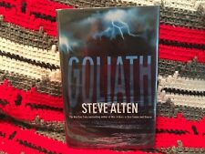 Goliath by Steve Alten, Hardcover, 1st Edition, 1st Printing, Signed by Author