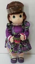 Precious Moments® Garden of Friends Doll Violet - February 1st Edition Retired