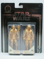 STAR WARS Skywalker Saga - GOLD Finn & Poe Dameron - 3.75 Inch Action Figure Set
