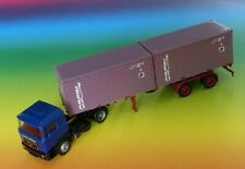 Herpa 311977 MAN TGX GM Tracteur bleu 1:87 nouveau dans neuf dans sa boîte